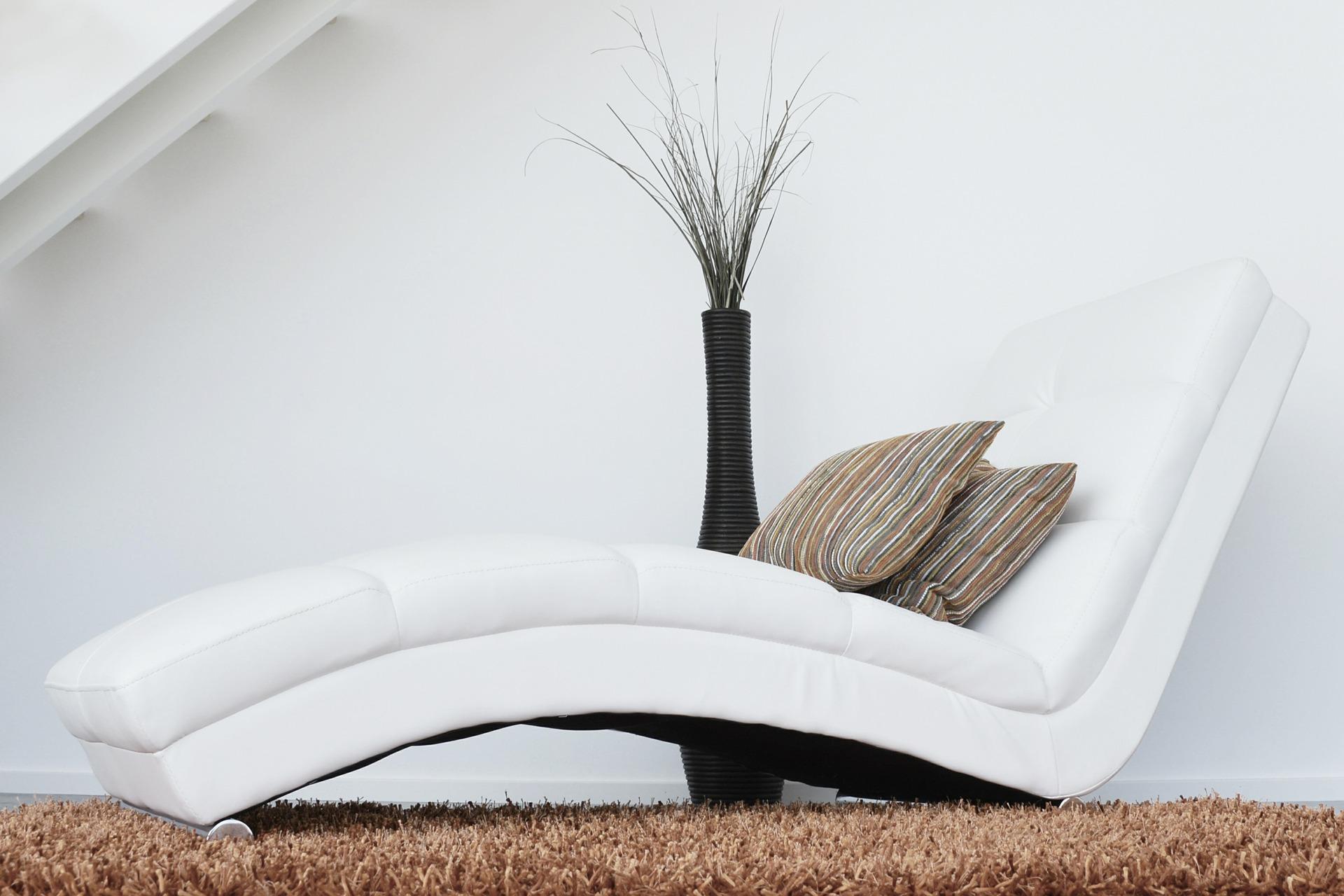 Canapea tapitata